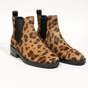 Cole Haan Cheetah Print Mara Grand Chelsea Booties